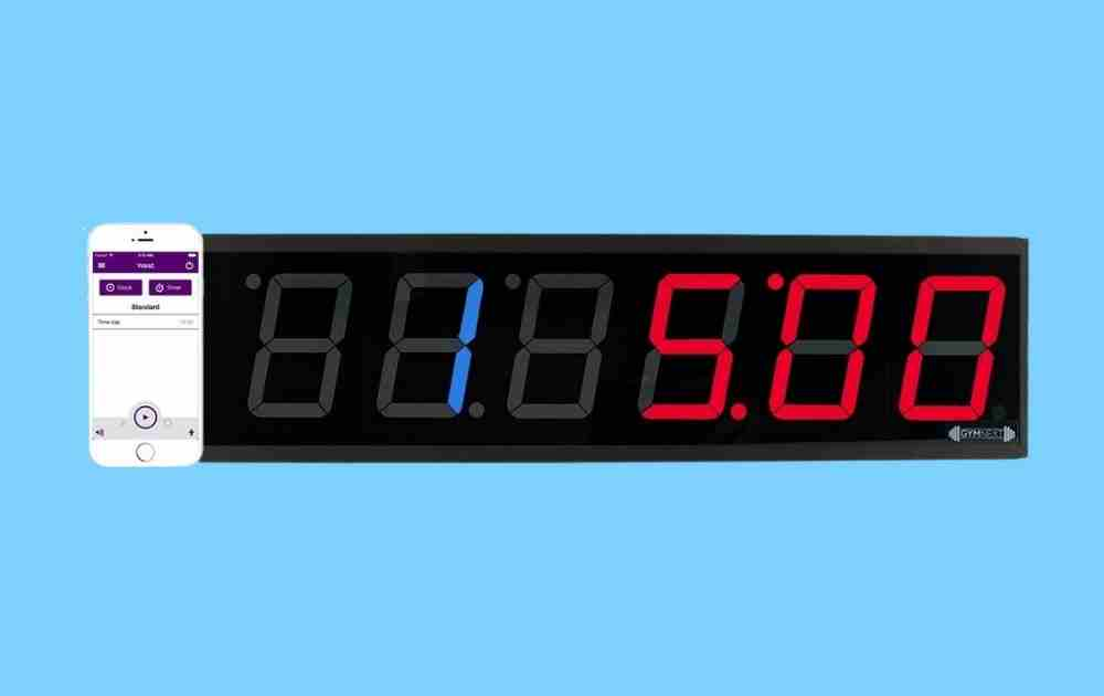 GymNext Flex Timer - Home Edition - Best Gym Timers