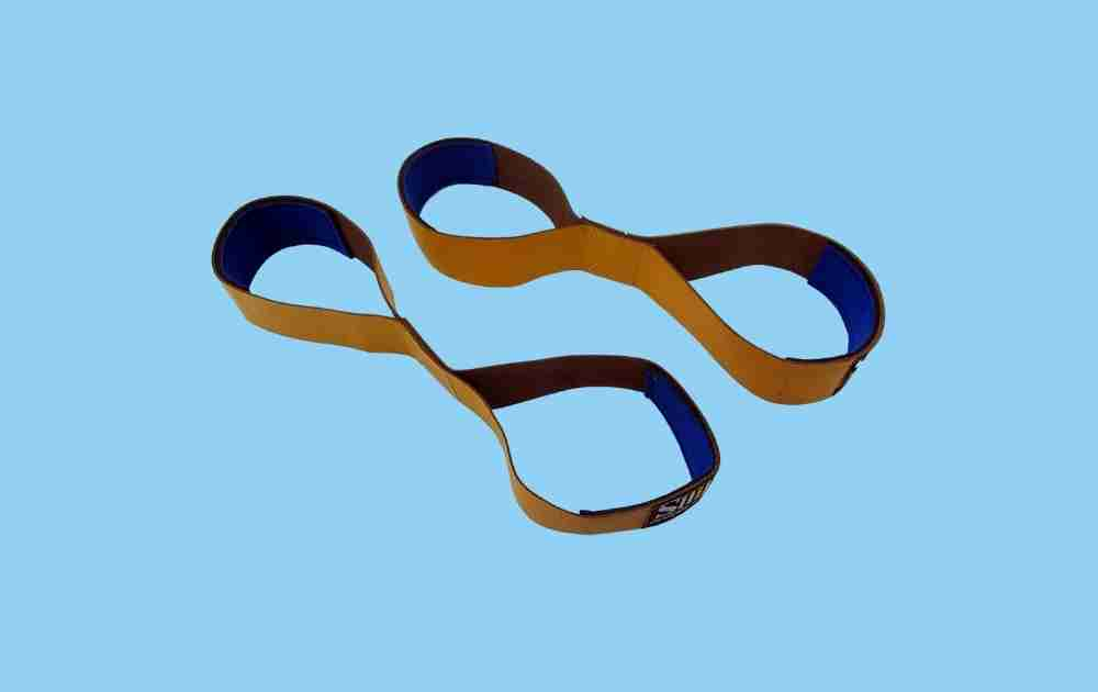 Power Sports Leather Figure 8 Lifting Straps