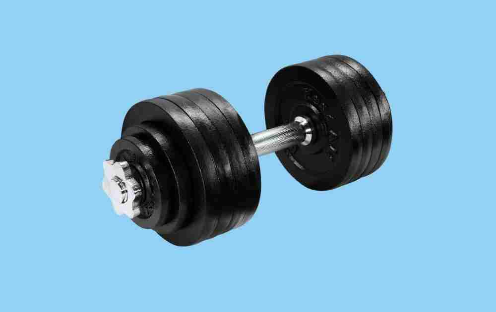 Yes4All Adjustable Cast Iron Dumbbells
