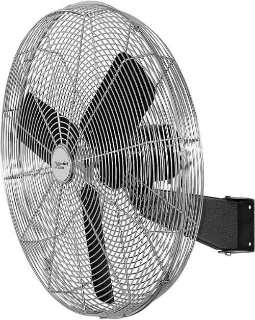Comfort Zone High-Velocity Wall-Mounted Fan