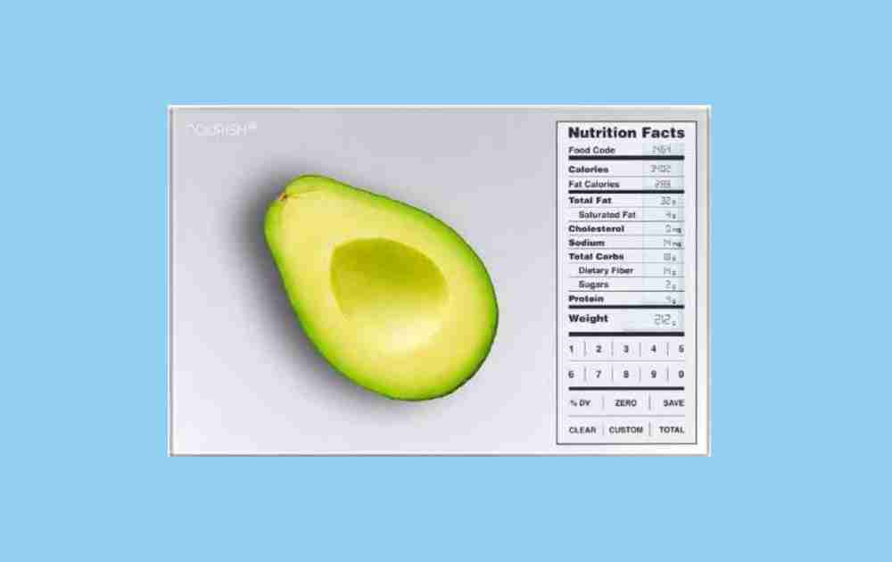 Greater Goods Nutrition Food Scale