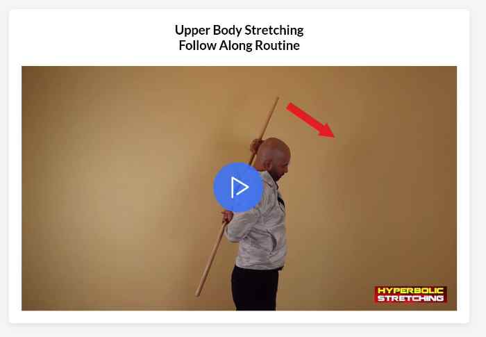 Hyperbolic Stretching Review - Upper Body Routine