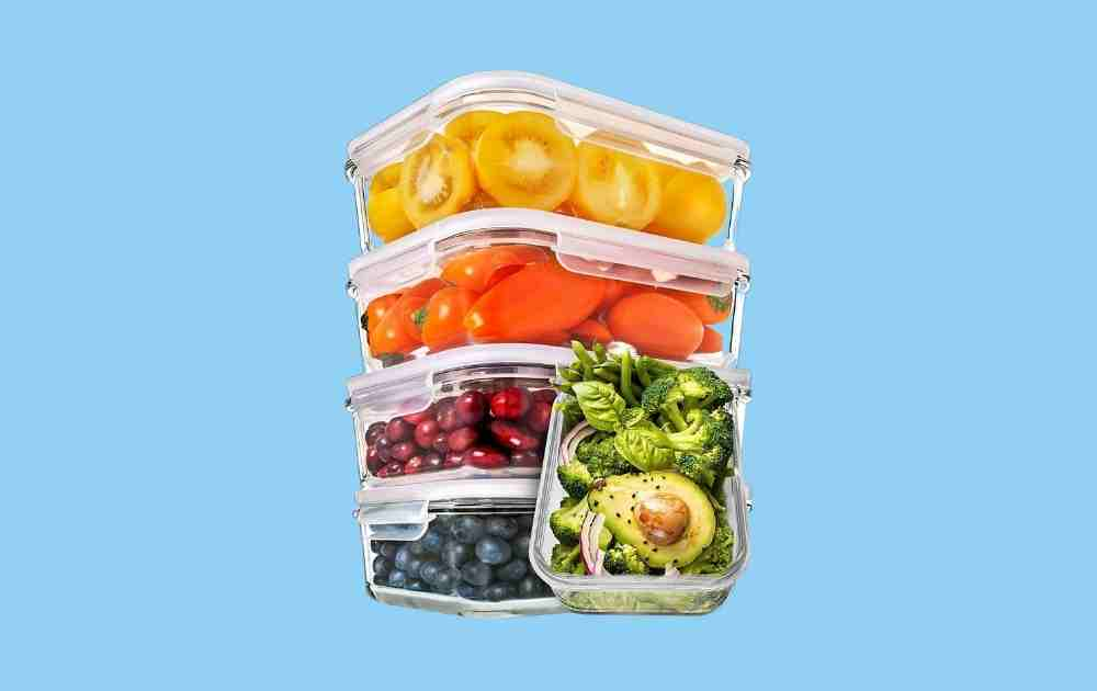 Prep Naturals Glass Meal Prep Containers (One Compartment)