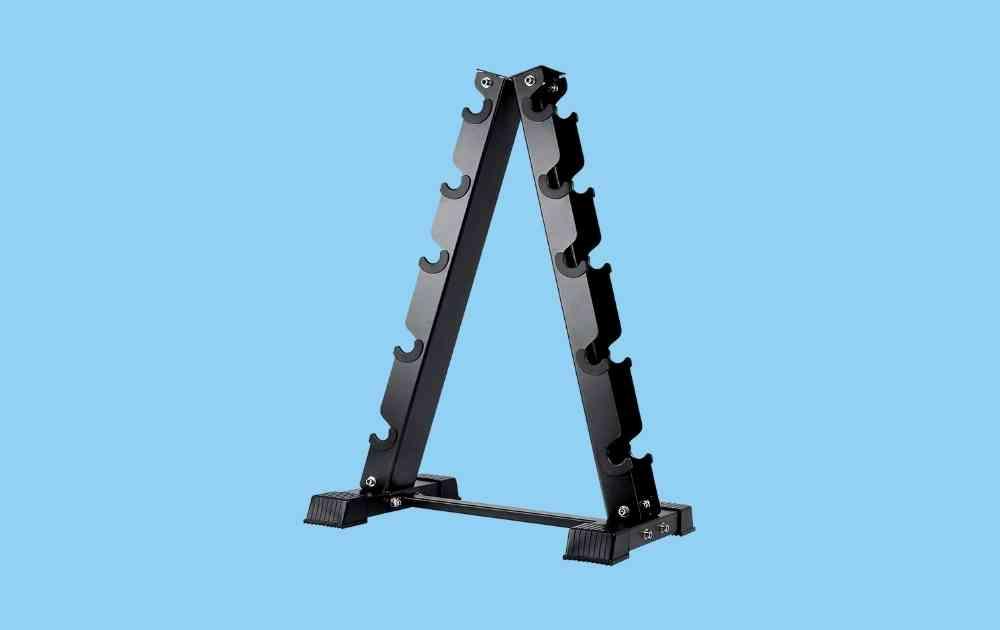 AKYEN A-Frame Dumbbell Rack Stand
