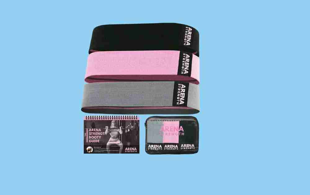 Arena Strength Fitness Fabric Resistance Bands
