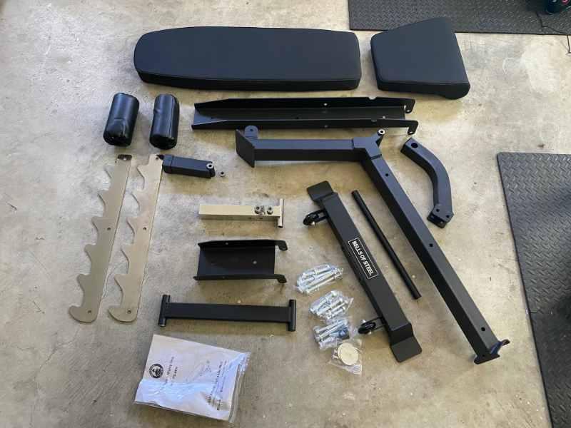 Bells of Steel Commercial 3.0 Adjustable Bench