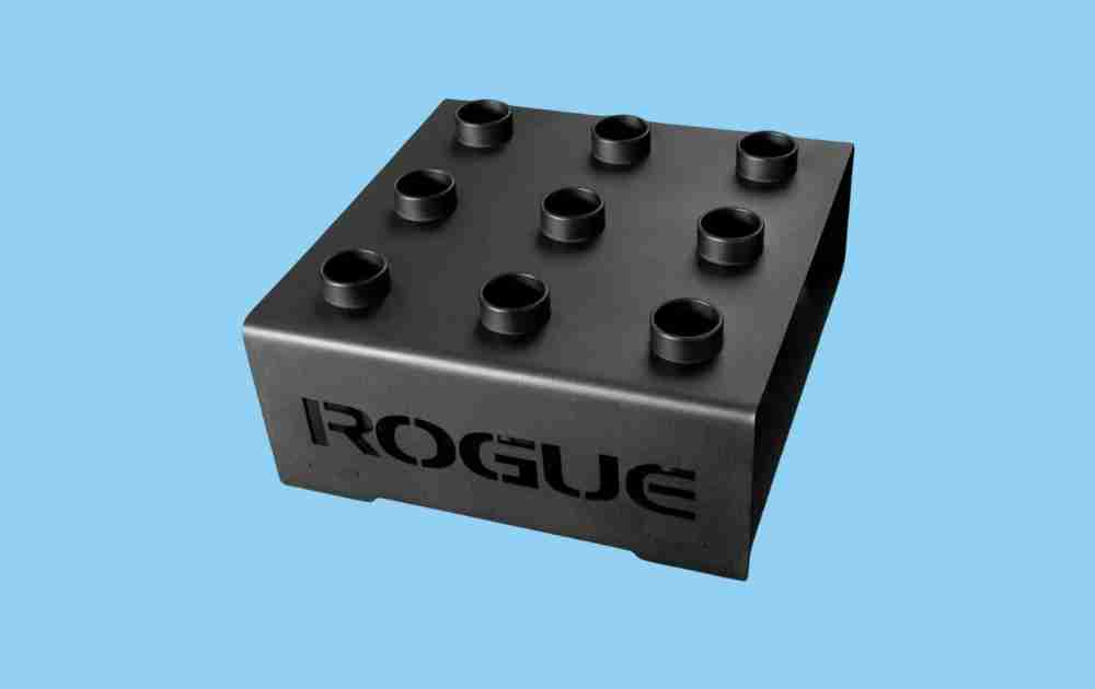 Rogue 9-Bar Vertical Olympic Barbell Holder