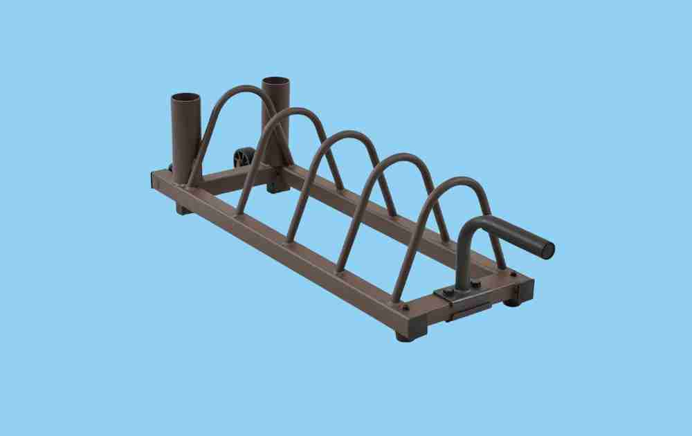 SteelBody Olympic Bar and Weight Plate Holder