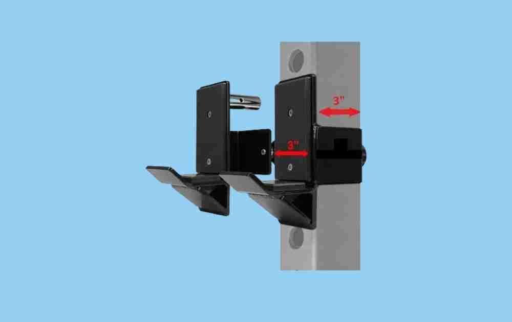 Yes4All J-hooks for 3x3 Squat Racks